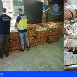 Incautan tres toneladas de tabaco picado en Jaén, Granada y Sevilla