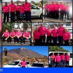 Taxistas de San Miguel apoyaron la lucha contra el cáncer de mama