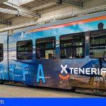 Tenerife se proyecta en los tranvías de Polonia