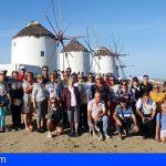 34 vecinos de Stgo. del Teide participan en un crucero por las Islas Griegas