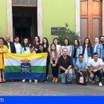 Guía de Isora celebra un encuentro entre Erasmus sobre Medio Ambiente
