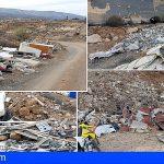 Toneladas de basura se dispersan por Granadilla en descargas ilegales