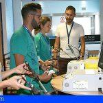 La Candelaria perfecciona técnicas laparoscópicas mediante simulación virtual