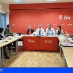 Apoyo unánime al pacto de gobernabilidad entre PSOE y Podemos de la dirección socialista en Canarias