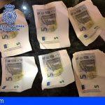 Desmantelada en Granada una imprenta artesanal de billetes falsos de 5€