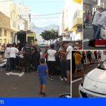 Mujer se precipita de un edificio en El Fraile y cae en un coche, su estado es grave