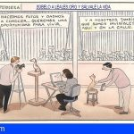 El dibujante animalista más reconocido del mundo homenajea a una Plataforma Canaria