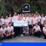 Adeje | CLC World dona 8.000€ a la Fundación Carrera por la Vida