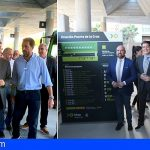 Martín inaugura la estación de Puerto de la Cruz y se compromete a impulsar el transporte público
