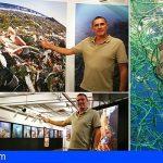 Arona | Sergio Hanquet expone en Londres para agitar conciencias contra el plástico