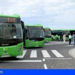 Tenerife prevé que 26 nuevas guaguas circulen a final de año