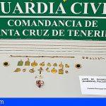 Dos jóvenes detenidos por sustraer 11.000 € en joyas de una vivienda en Tacoronte