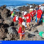 Guía de Isora se libra de más de 300 kilos de basura en Playa San Juan