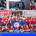 Guía de Isora | El Club de Vela, Armas y Ecomar recogen cerca de 600 kilos de basura del litoral