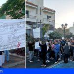 Arico se manifiesta contra la moción de censura