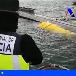 """Interceptado en la costa gallega el primer """"narcosubmarino"""" detectado en Europa"""
