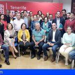 El PSOE de Tenerife respalda a los socialistas de Arico ante la moción de censura