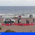 28 personas atendidas tras llegar en una patera a El Médano