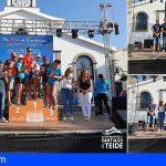 Stgo. del Teide | José C. Báez y Ainoha Santana, vencedores de las «Murallas del Infierno»