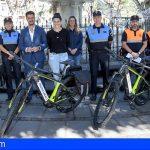 La Laguna incorpora 4 bicicletas eléctricas para la Policía Local y Protección Civil