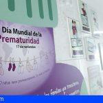 Los hospitales públicos de Tenerife celebran el Día de la Prematuridad