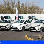 Lanzarote renueva la flota de vehículos del Hospital Doctor José Molina Orosa