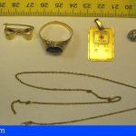 Detenido en La Palma por robar joyas en una vivienda y venderlas