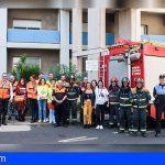 La Candelaria llevo a cabo un simulacro de incendio con más de 50 profesionales