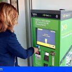 Titsa instala máquinas de venta y recarga de tarjetas Ten+ en los intercambiadores