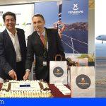 El Cabildo de Tenerife recibe al vuelo inaugural de la ruta de Wizz Air desde Luton