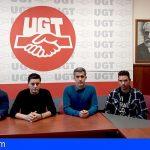 UGT denuncia el despido de la totalidad de los trabajadores de la Rotativa de El Día