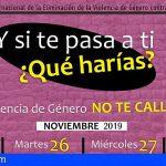 San Miguel se suma al Día de la Eliminación de la Violencia de Género contra la Mujer