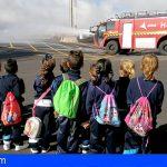 El Aeropuerto Tenerife Norte recibió la primera visita escolar del curso 2019-2020