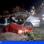 Liberan a un conductor en Granadilla tras caerse a unas huertas desde 12 metros de altura