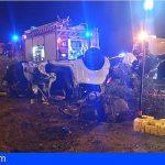 Un kamikaze impacta contra 2 vehículos en la TF-1 (Adeje) y deja un fallecido