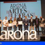 Arona premia el talento en artes plásticas y en relato corto