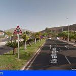 Un motorista fallece en Arona tras salirse de una vía