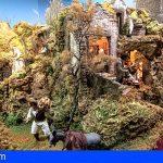 El Belén del Cabildo de Gran Canaria rinde homenaje a Risco Caído