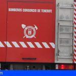 Bomberos de Tenerife efectuaron rescates y extinción de incendios en el Sur