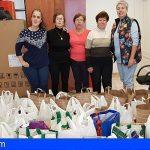San Miguel comienza el reparto de alimentos de las campañas solidarias
