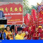 Arona celebró la llegada de la diosa Mazu, un acontecimiento único en España