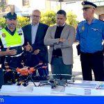 Telde pone en marcha la primera unidad policial de drones de Gran Canaria