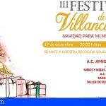"""San Miguel celebra el III Festival de Villancicos """"Navidad para mi Niño"""""""