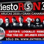 Gran Canaria | Estopa, Loquillo, Rebeldes y Siniestro Total, cabezas de cartel del FiestoRon