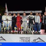 Stgo. del Teide   Félix Brito y Cristina Fariña se alzaron con la victoria del Rallysprint