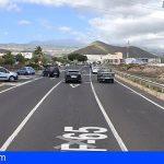 3 heridos en una colisión frontal de dos vehículos en Las Chafiras