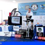 Güímar | Ya hay Récord Mundial de 5000 kms. en Spinning, a Miguel Angel Castro le sobra un día