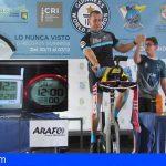 Güímar | Castro sube el listón de su décimoquinto World Records Guinness en 322,8 kilómetros
