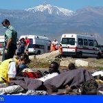 Sanidad revisa el protocolo de atención sanitaria a los migrantes que llegan en patera