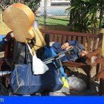 Adeje y Arona coordinan con el Cabildo acciones para personas sin hogar